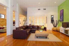 Family Room Design With Brown Leather Sofa Living Room Marvelous Living Room Decor Ideas Nice Green Nice