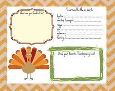 entire free printable neutral thanksgiving package