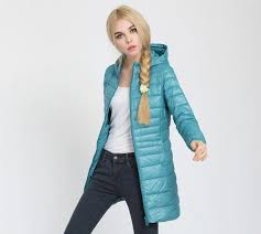 ultra light down jacket in a bag ladies long spring autumn overcoat women ultra light 90 white duck