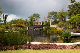 Naples Florida Botanical Garden Garden Waterfall And Pond Naturetime