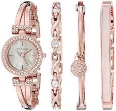 swarovski crystal bracelet watches images Anne klein women 39 s ak 2238rgst swarovski crystal accented rose jpg