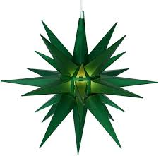 Christmas Lighted Moravian Star Indoor Outdoor Decoration by Outdoor Christmas Star Light Star Hanging Christmas Light