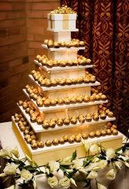ferrero rocher 20 amazing alternative wedding cake ideas