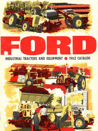 1962 ford tractor sales lit