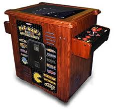 Games For Cocktail Parties - amazon com namco pacman party cocktail home arcade game machine