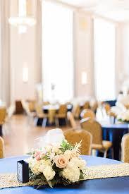 art deco blue and gold wedding glamour u0026 grace