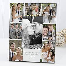 Personalized Wedding Photo Frame Personalized Wedding Photo Printed Picture Frame Wedding Photo