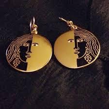 laurel burch earrings laurel burch vintage moon goddess laurel burch drop earrings
