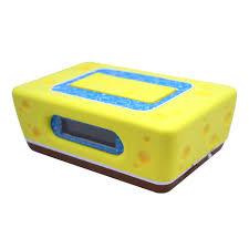 Cool Digital Clocks Sakar S55062 Spongebob Clock Radio Tvs U0026 Electronics Portable