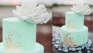Mint Green Wedding Mint Wedding Cakes Cake Geek Magazine