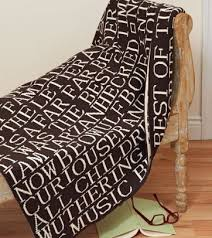 Love Does Barnes And Noble Quotes Chocolate Melange U0026 Ecru 100 Cotton Throw 50