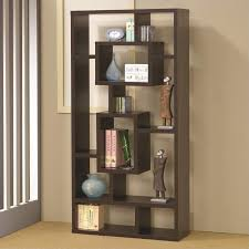 Bookcase In Wall Vignettes