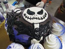 Halloween Skull Cakes by Create A Spectacularly Spooky Nightmare Before Christmas Themed