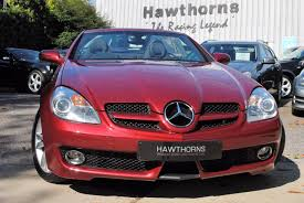 used mercedes benz slk 3 0 for sale motors co uk