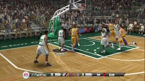 ps2 nba live 09 gameplay youtube