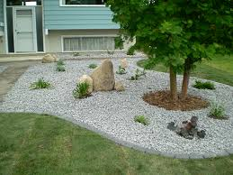 Landscaping Rock Ideas Interesting Rock Wall Garden Ideas With Types Of River For
