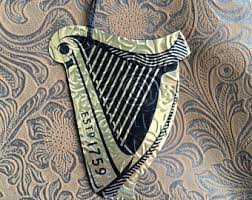 harp ornament etsy