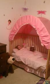 Toddler Bed With Canopy Make A Rainbow Canopy For Your Child S Room