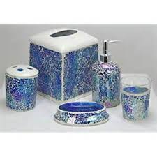 mosaic bathroom accessories home design