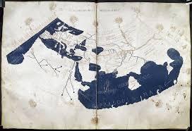 World Map Poster India by Ptolemy U0027s World Map Wikipedia
