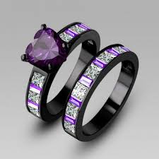 black wedding band sets black wedding ring sets lake side corrals