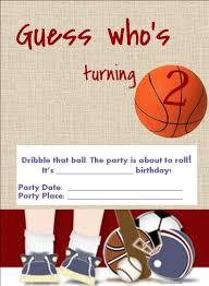 40th birthday ideas free printable sports birthday invitation