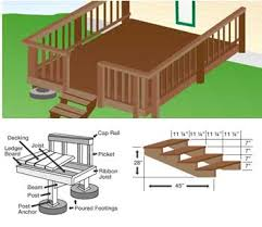 porch building plans free diy deck porch patio stair plans build your own deck