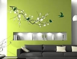 modern home decorating with wall stickers decals and vinyl art ideas