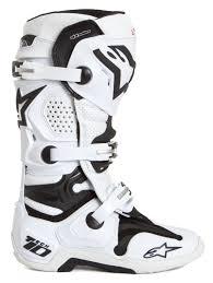 motocross boot repair alpinestars mx boots tech 10 white vented 2018 maciag offroad