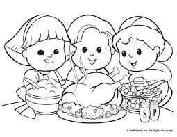 thanksgiving dinner coloring pages getcoloringpages com