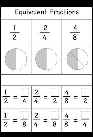 fractions counting by halves printable worksheets pinterest