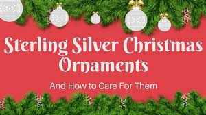 intercept jewelry care sterling silver ornaments