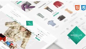 52 best ecommerce html website templates 2017