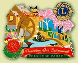 parade pins souvenirs lions clubs float inc
