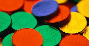 hanukkah chocolate coins colorful hanukkah chocolate coins hanukkah pictures hanukkah