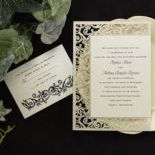 Wedding Invitation Card Maker Amazing Carlson Craft Pocket Wedding Invitations Iloveprojection Com