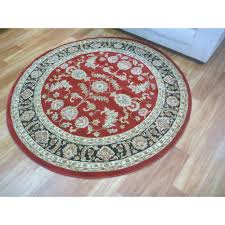 round rugs classical red black 500 free shipping australia wide