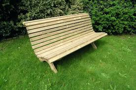 Modern Outdoor Wood Bench by Contemporary Outdoor Wooden Furniture Medina Modern Outdoor Bench