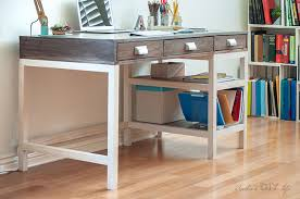 Free Plans To Build A Computer Desk by Diy Modern Farmhouse Desk Plans And Video Anika U0027s Diy Life