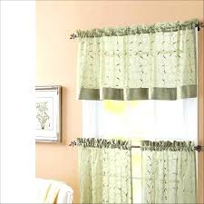45 Inch Curtains Coral Ruffle Curtains Teawing Co