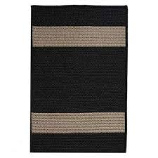 Square Indoor Outdoor Rugs Striped Square Black Outdoor Rugs Rugs The Home Depot