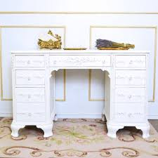 Large White Desk With Drawers Furniture Awesome White Desks With Drawers Designs Ideas Custom