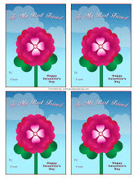 free best friend valentine u0027s day card mrs kathy king