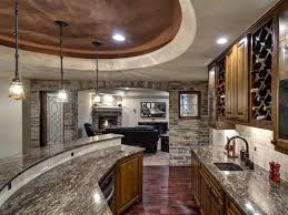 creative of basement kitchen and bar ideas best basement kitchen