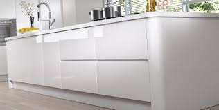 White Gloss Kitchen Cabinet Doors by Kitchens Tierney Kitchens