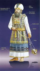 the high priest garments the bible describes the high priest s clothing in intricate detail