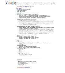 Indesign Resumes A Google Themed Resume Got Eric Gandhi An Interview With The