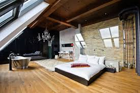 apartment modern small apartment with attic bedroom design ideas