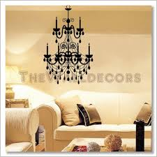 Chandelier Wall Decal Chandelier Wall Decal