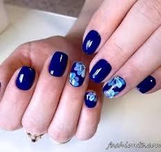 30 blue nail designs nenuno creative